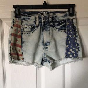 Like New High Rise Juniors shorts size 1